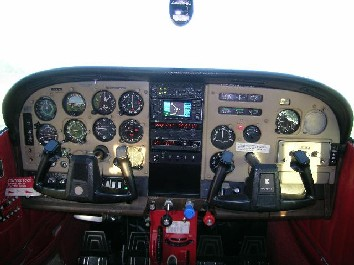 flight club NJ n736re panel